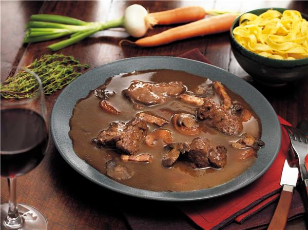 Sauteed Beef from the Aubrac in Bergerac Wine Sauce