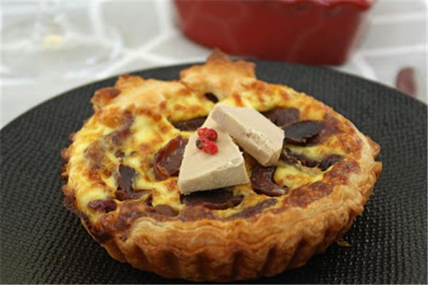 Duck gizzards and foie gras pie – by Afternoon tea