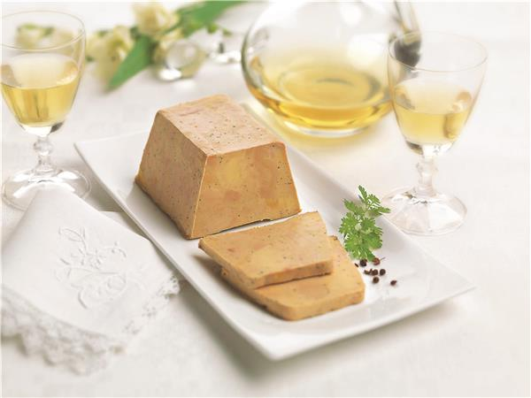 Duck Foie Gras from the South-West cooked with Jurançon Half-Cooked